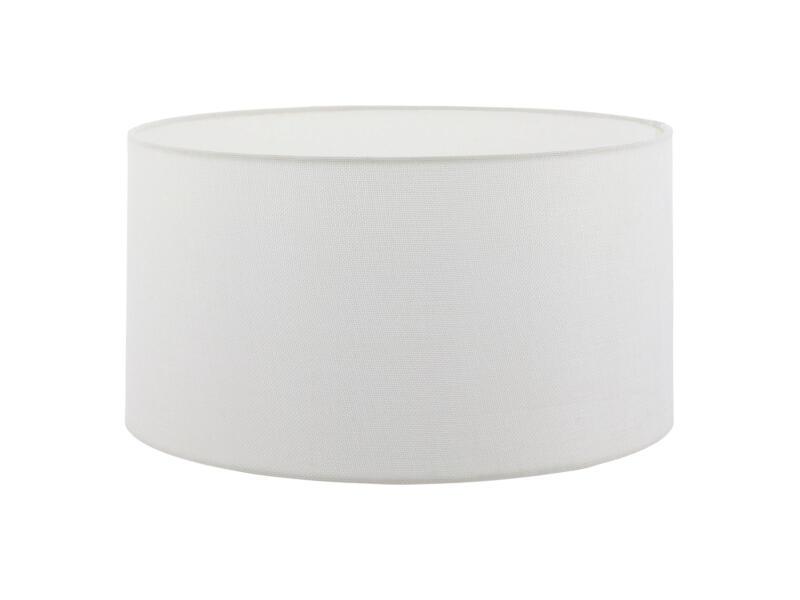 Eglo 1+1 Vintage abat-jour E27 50cm blanc