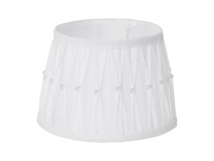 Eglo 1+1 Vintage abat-jour E27/E14 20cm blanc/perle
