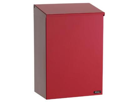 Allux 100 boîte aux lettres acier galvanisé rouge
