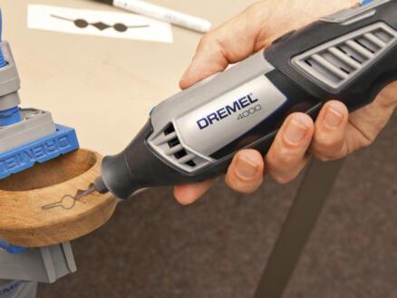 Dremel 125JA frees HSS 6,4mm speervorm