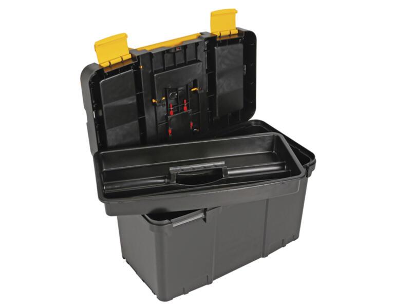 Toolland 2-in-1 gereedschapstrolley 46x26x62 cm