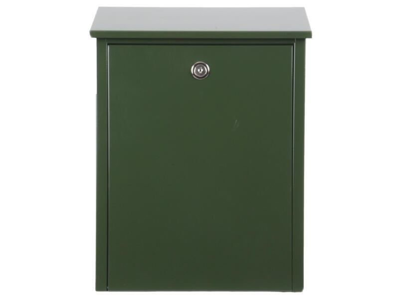 Allux 200 boîte aux lettres eurolock acier galvanisé vert