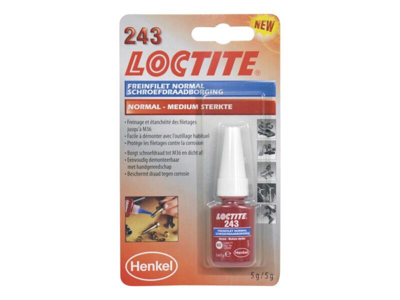 Loctite 243 borgmiddel 5ml