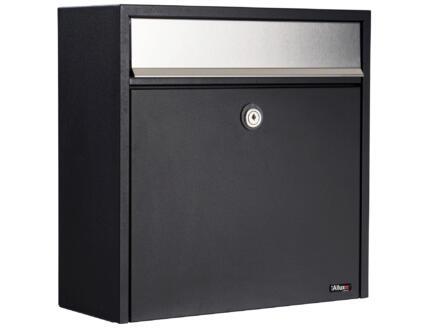 Allux 250 boîte aux lettres acier galvanisé noir