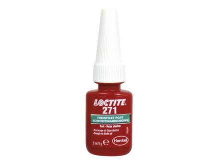 Loctite 271 borgmiddel 5ml rood