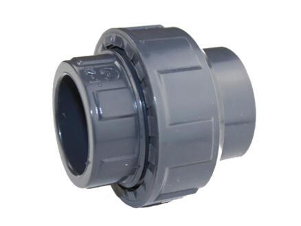 Scala 3-delige koppeling 40mm PVC met O-ring