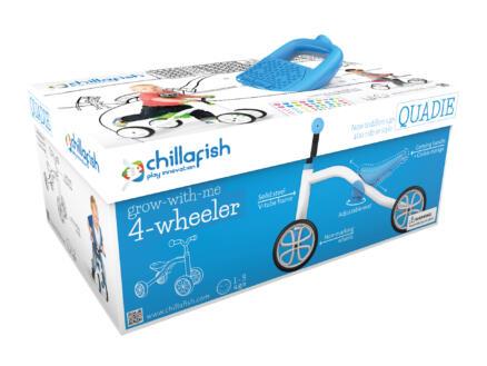 4 Wheel Bike Quadie loopfiets blauw
