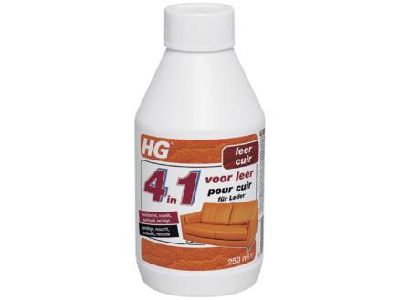 HG 4 en 1 pour cuir 250ml