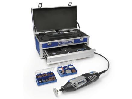 Dremel 4000KE Platinum outil rotatif 175W + 128 accessoires