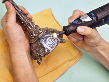 Dremel 414 roue de polissage en feutre 13mm 6 pièces