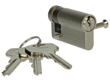 Yale 500 10/40 demi cylindre de porte profilé 50mm