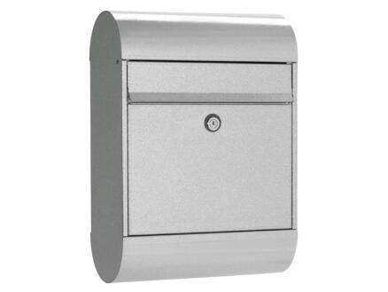 Allux 5000 GK brievenbus eurolock gegalvaniseerd staal grijs