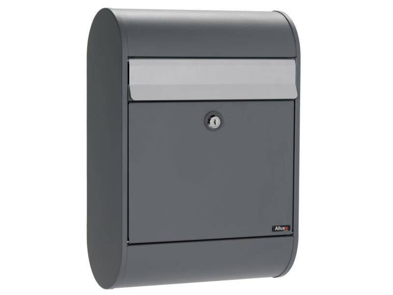 Allux 5000 boîte aux lettres eurolock acier galvanisé anthracite