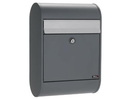 Allux 5000 brievenbus eurolock gegalvaniseerd staal antraciet