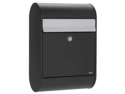 Allux 5000 brievenbus eurolock gegalvaniseerd staal zwart