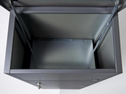 Allux 600 boîte aux lettres et à colis acier galvanisé anthracite