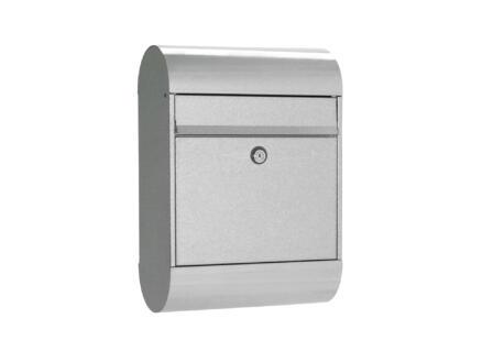Allux 6000 GK boîte aux lettres eurolock acier galvanisé gris