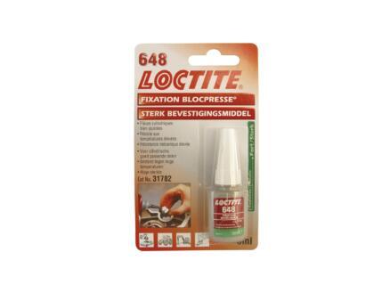 Loctite 648 borgmiddel 5ml groen