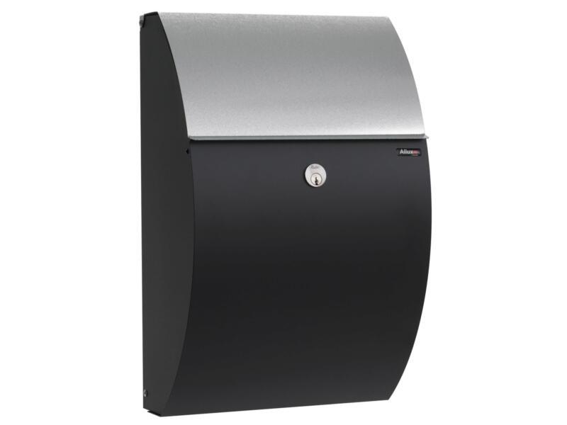 Allux 7000 SG boîte aux lettres acier galvanisé noir