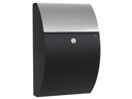 Allux 7000 SG brievenbus gegalvaniseerd staal zwart