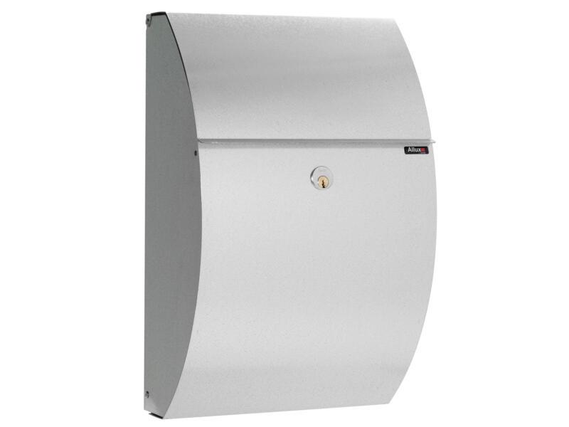 Allux 7000 brievenbus gegalvaniseerd staal grijs