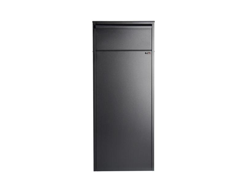Allux 800 RR pakketbrievenbus gegalvaniseerd staal zwart