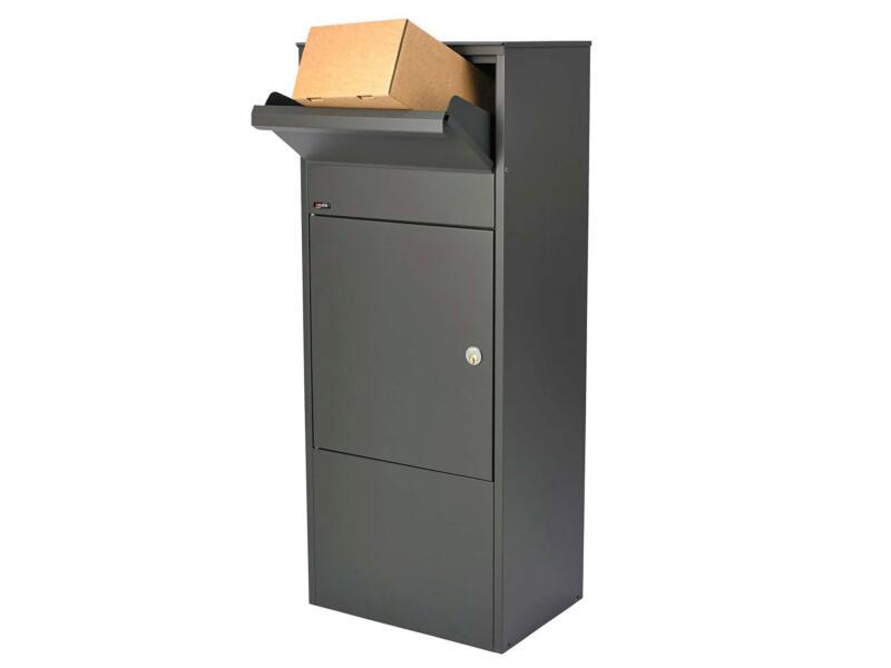 Allux 800 boîte aux lettres acier galvanisé anthracite