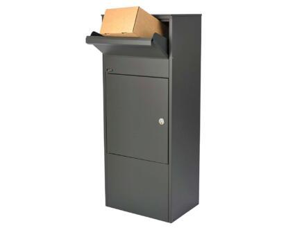 Allux 800 brievenbus 98cm gegalvaniseerd staal antraciet