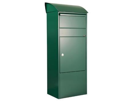 Allux 820 boîte aux lettres et à colis acier galvanisé vert