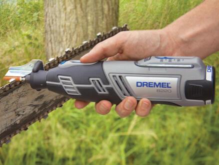 Dremel 8220JK outil rotatif multifonction sans fil 12V + 2 batteries et 65 accessoires
