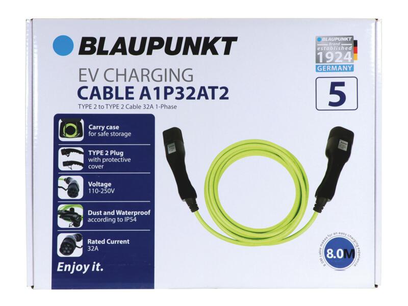 Blaupunkt A1P32AT2 type 2 câble de charge 250V 32A pour voiture électrique