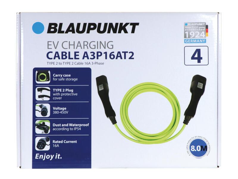 Blaupunkt A3P16AT2 type 2 câble de charge 450V 16A pour voiture électrique