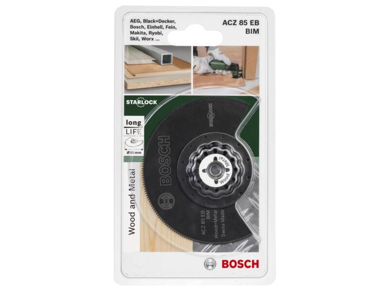 Bosch ACZ 85 EB lame segmentée BIM 85mm bois/métal