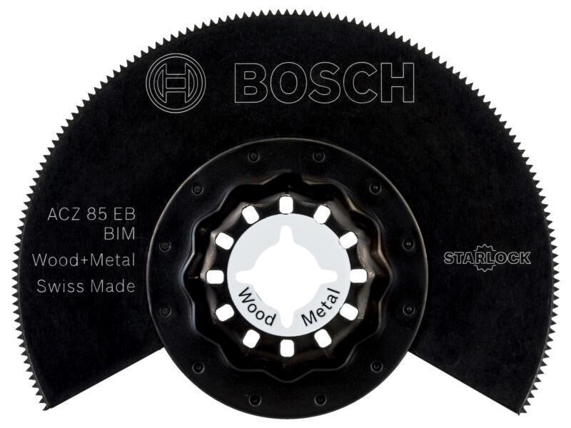 Bosch ACZ 85 EB segmentzaagblad BIM 85mm hout/metaal