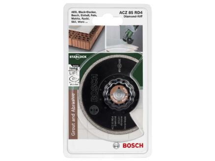 Bosch ACZ 85 RD4 lame segmentée diamant-RIFF 85mm béton/matière synthétique