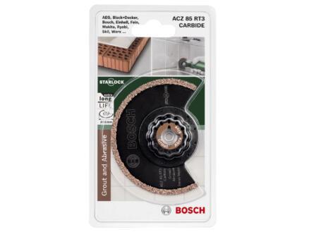 Bosch ACZ 85 RT3 lame segmentée carbure-RIFF 85mm béton/matière synthétique