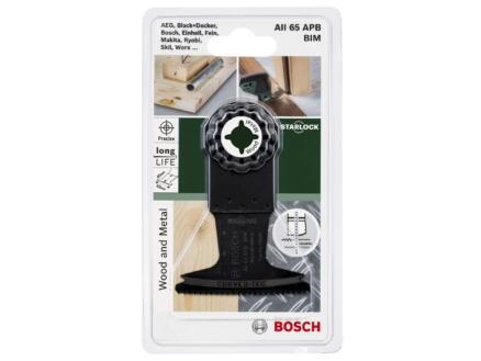 Bosch AII 65 APB lame de scie plongeante BIM 65mm bois/métal