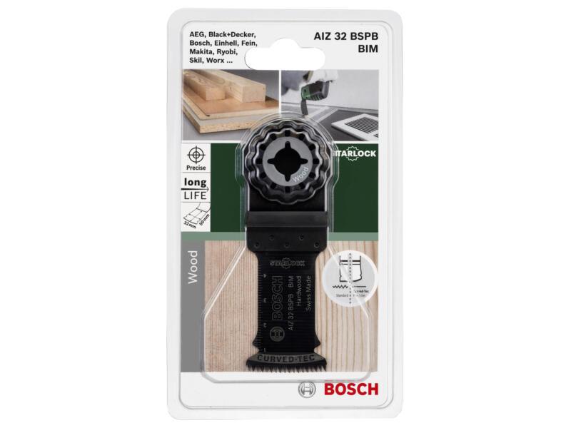 Bosch AIZ 32 BSPB invalzaagblad BIM 32mm hardhout