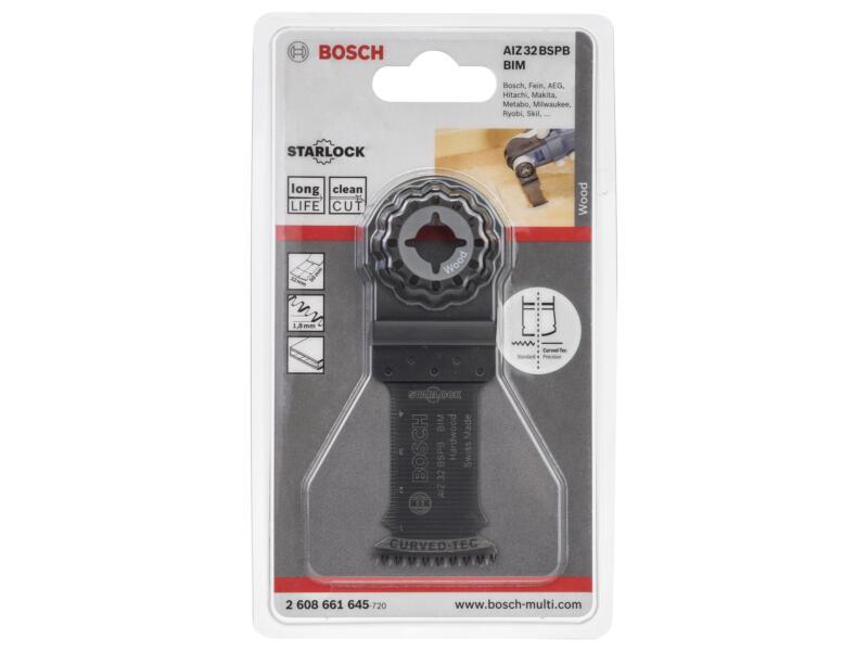 Bosch Professional AIZ 32 BSPB lame de scie plongeante BIM 32mm bois dur