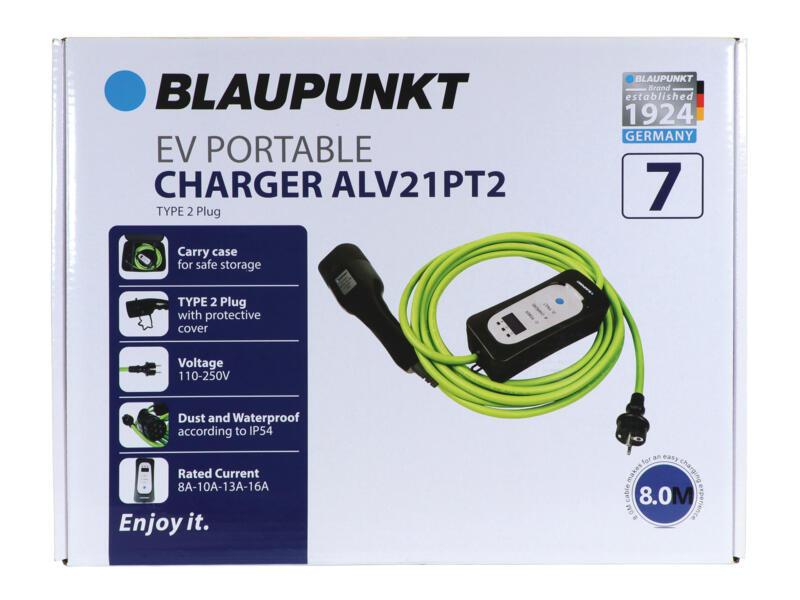 Blaupunkt ALV21PT2 type 2 draagbare oplader 250W 16A