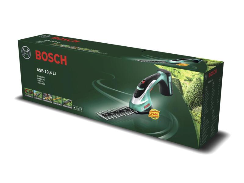 Bosch ASB 10,8 LI cisaille à gazon / taille-haies sans fil 10,8V Li-Ion 12cm
