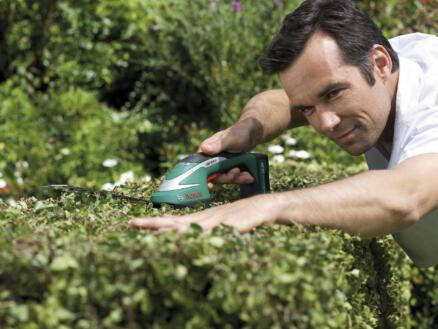 Bosch ASB accu gras- en heggenschaar 10,8V Li-Ion 12cm + accessoires