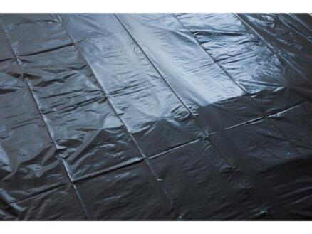 Aardbeienfolie 1,4x10 m zwart