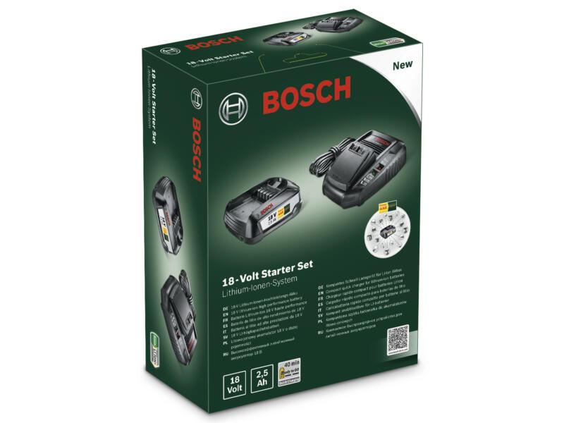 Bosch Accu 18V Li-Ion 2,5Ah + lader