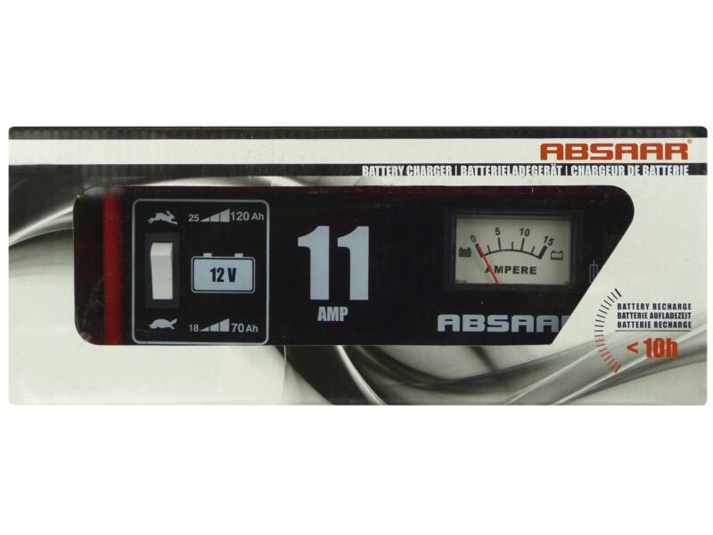 Absaar Acculader 12V 11A