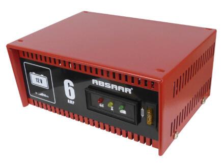 Absaar Acculader 12V 6A
