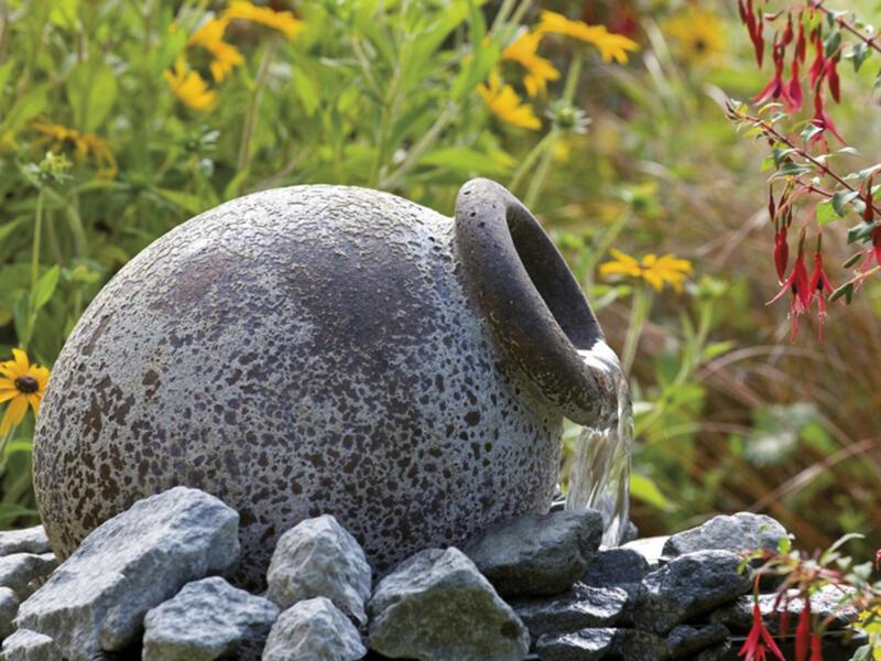 Ubbink Acqua Arte Orange fontaine de jardin