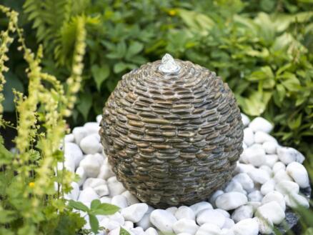 Ubbink Acqua Arte Trente fontaine boule LED
