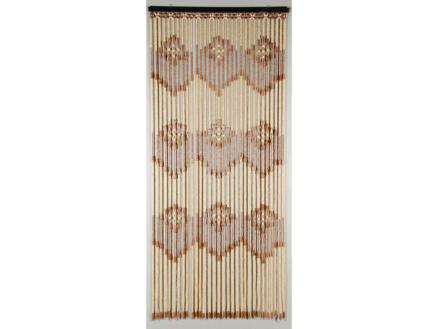 Confortex Acropole rideau de porte bois 90x200 cm
