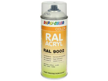Dupli Color Acryl laque en spray brillant 0,4l blanc gris